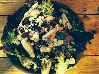 Cranberry and Goats Cheese Salad