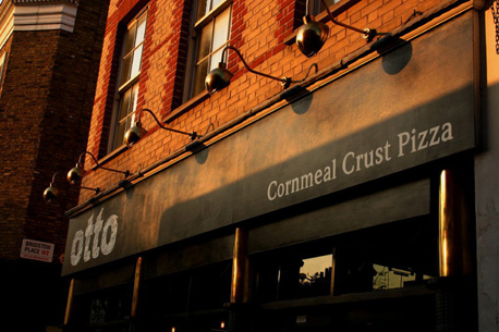 Otto Pizza Notting Hill front sign